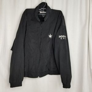 Boast mens soft shell jacket size M black full zip